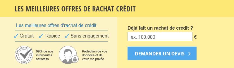 Simulateur rachat de crédit